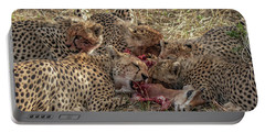 Cheetahs And Grant's Gazelle Portable Battery Charger