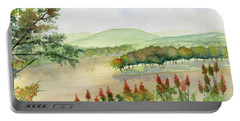 Chemung River Autumn Portable Battery Charger