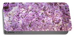 Cherry Blossom Flowers Portable Battery Charger