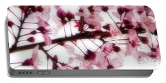 Cherry Triptych Center Panel Portable Battery Charger