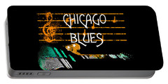 Chicago Blues Music Portable Battery Charger