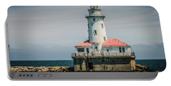 Chicago Harbor Lighthouse Portable Battery Charger