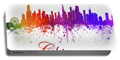 Chicago Illinois Skyline 14 Portable Battery Charger