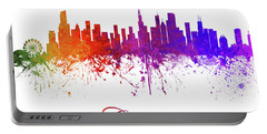 Chicago Illinois Skyline 15 Portable Battery Charger