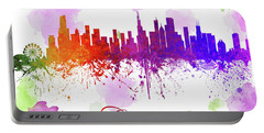 Chicago Illinois Skyline 16 Portable Battery Charger