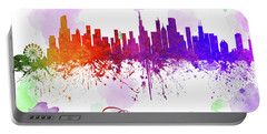 Chicago Illinois Skyline 17 Portable Battery Charger