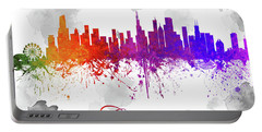Chicago Illinois Skyline 18 Portable Battery Charger