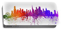 Chicago Illinois Skyline 2 Portable Battery Charger