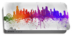 Chicago Illinois Skyline 21 Portable Battery Charger