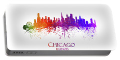 Chicago Illinois Skyline 27 Portable Battery Charger