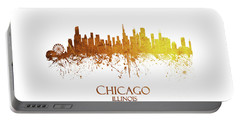 Chicago Illinois Skyline 28 Portable Battery Charger