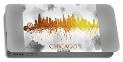 Chicago Illinois Skyline 29 Portable Battery Charger