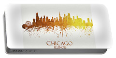 Chicago Illinois Skyline 30 Portable Battery Charger