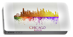Chicago Illinois Skyline 32 Portable Battery Charger