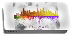 Chicago Illinois Skyline 33 Portable Battery Charger