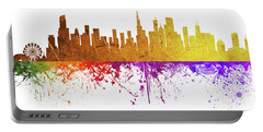 Chicago Illinois Skyline 34 Portable Battery Charger