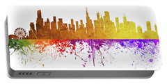 Chicago Illinois Skyline 35 Portable Battery Charger