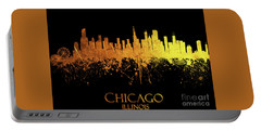 Chicago Illinois Skyline 39 Portable Battery Charger