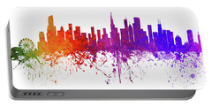 Chicago Illinois Skyline 4 Portable Battery Charger