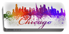 Chicago Illinois Skyline 43 Portable Battery Charger