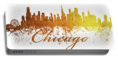 Chicago Illinois Skyline 44 Portable Battery Charger