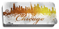 Chicago Illinois Skyline 45 Portable Battery Charger