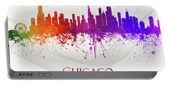 Chicago Illinois Skyline 47 Portable Battery Charger