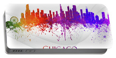 Chicago Illinois Skyline 48 Portable Battery Charger