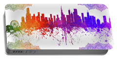 Chicago Illinois Skyline 5 Portable Battery Charger