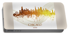 Chicago Illinois Skyline 50 Portable Battery Charger