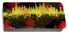 Chicago Illinois Skyline 52 Portable Battery Charger
