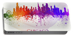 Chicago Illinois Skyline 53 Portable Battery Charger