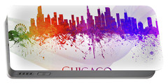 Chicago Illinois Skyline 54 Portable Battery Charger