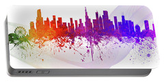 Chicago Illinois Skyline 55 Portable Battery Charger