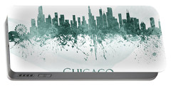 Chicago Illinois Skyline 58 Portable Battery Charger