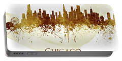 Chicago Illinois Skyline 59 Portable Battery Charger
