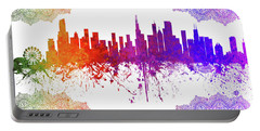 Chicago Illinois Skyline 6 Portable Battery Charger