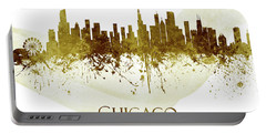 Chicago Illinois Skyline 60 Portable Battery Charger