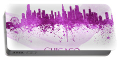 Chicago Illinois Skyline 64 Portable Battery Charger