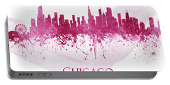 Chicago Illinois Skyline 65 Portable Battery Charger