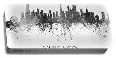 Chicago Illinois Skyline 67 Portable Battery Charger