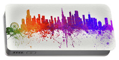 Chicago Illinois Skyline 9 Portable Battery Charger