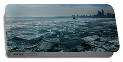 Chicago In Winter Portable Battery Charger