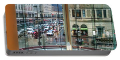 Portable Battery Charger featuring the photograph Chicago Streets by Rosanne Licciardi