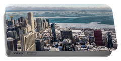 Chicago View Angled Portable Battery Charger