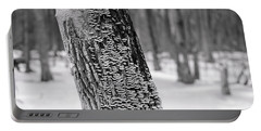 Chicago Winter Trees Portable Battery Charger