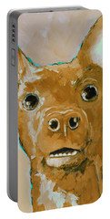 Chihuahua Dog Portrait Caramel Portable Battery Charger