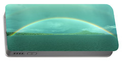 Chilean Fjord Rainbow Portable Battery Charger