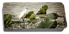 Chinese Egret Portable Battery Charger
