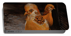 Chinese Golden Pheasant Portable Battery Charger